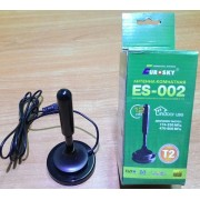 Eurosky ES-002 (комнатная антенна Т2 с усилителем, 5В)