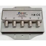 DiSEqC 4x1 2,0 Eurosky DSW-4130 в кожухе (дисек коммутатор на 4 LNB)