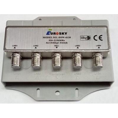 DiSEqC Eurosky DSW-4130 4x1 в кожухе