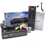 Eurosky ES-18 T2 (YouTube, Megogo, IPTV, AC3, METAL) + Wi-Fi адаптер