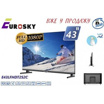 EuroSky E43LFHDT2S2C LED
