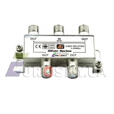 Eurosky Split 1/4 way (антенный разветвитель на 4 телевизора)