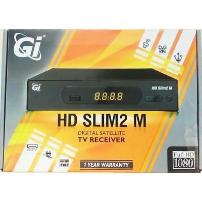GI Slim 2-M (DVB-S2, Metal, IPTV, YouTube)