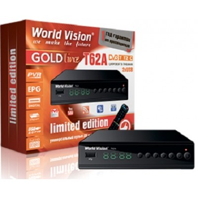 World Vision T62A METAL GOLD Line