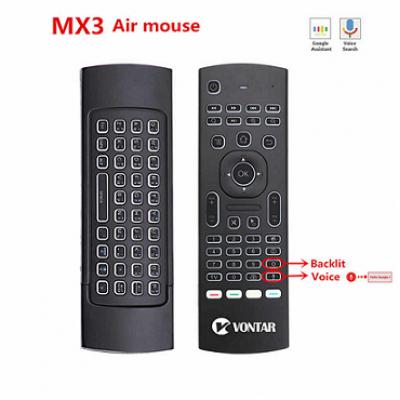 Мини клавиатура MX3 Air Mouse для Android (с гироскопом)