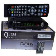 Q-Sat Q-125 (Т2/C, Универсальный д/у, YouTube, IPTV, Megogo, AC3...)