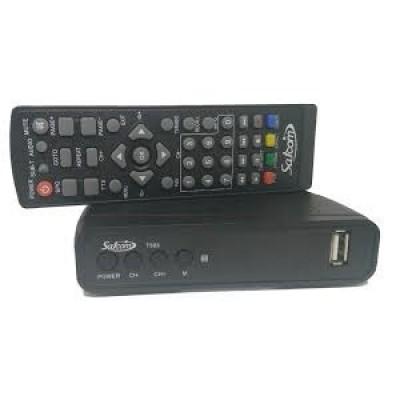 Satcom T503 DVB-T2 тюнер в пластиковом корпусе