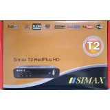 Simax T2 Red PLUS (DVB-T2, IPTV, YouTube,Megogo...)