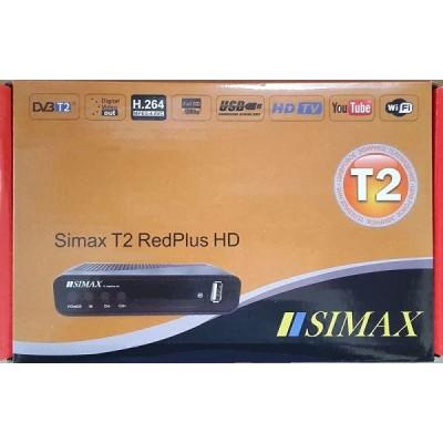 Simax Red PLUS DVB-T2 (YouTube, IPTV, Megogo...)
