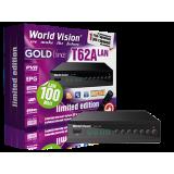 WORLD VISION T62A LAN- T2-DVB-C(Программируемый пульт)  (Megogo, Kino-Live, YouTube, IPTV, AC3)