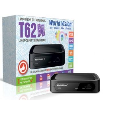 World Vision T62M ( T2, Megogo, YouTube, Kino-Live, IPTV, AC3...)