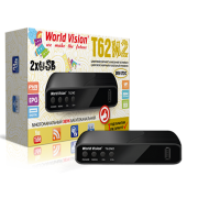 World Vision T62М2- T2-DVB-C (Megogo, Kino-Live, YouTube, IPTV, AC3)
