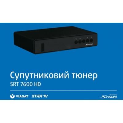 STRONG SRT 7600 HD (Спутниковый ресивер для VIASAT и XTRA)