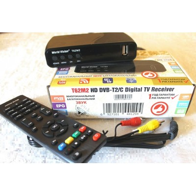 World Vision T62М2 - Т2 с YouTube, IPTV, Megogo, Kino-Live...