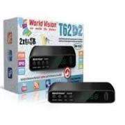 WORLD VISION T62D2-Т2 DVB-C  (Megogo, Kino-Live, YouTube, IPTV, AC3)