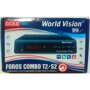 World Vision Foros Combo (S2+T2+С, T2-MI, YouTube, IPTV...)