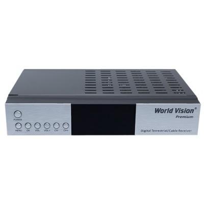 WV Premium T2/C - t2 тюнер с модулятором и интернет сервисами