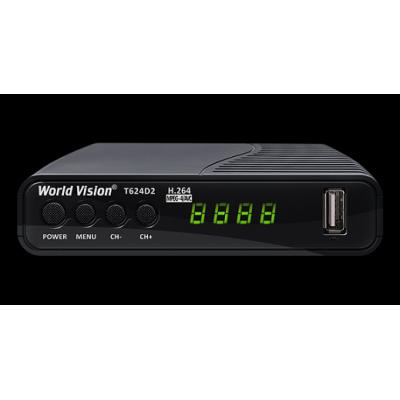 World Vision T624D2  + WiFi (WiFi, YouTube, IPTV, Megogo, Kino-Live...)