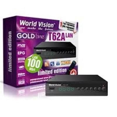 WORLD VISION T62A LAN- T2(Программируемый пульт) (Megogo, Kino-Live, YouTube, IPTV, AC3)