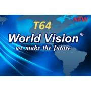 World Vision T64 (T2/C + Free-IPTV, MEGOGO, YouTube)