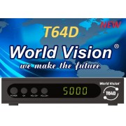 World Vision T64D (T2/C + Free-IPTV, YouTube, MEGOGO)