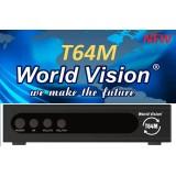 World Vision T64M (T2/C + Free-IPTV, MEGOGO, YouTube)