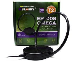 EuroSky ES-008 Omega - Т2 антенна с усилителем
