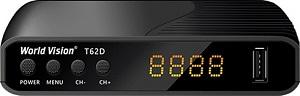 World Vision T62D T2 (Megogo, Kino-Live, YouTube, IPTV, AC3...)